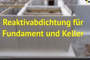 Saint-Gobain Weber hat aktuell ein neues Video zur Bauwerksabdichtung mit weber.tec Superflex D24 veröffentlicht. Abb.: Saint Gobain Weber<br />