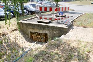 """Rehau hat am Standort Erlangen eine brandneue <span class=""""bildunterschrift_hervorgehoben"""">Teststrecke für Hochgeschwindigkeits-Breitband-Kabelrohrsysteme</span> in Betrieb genommen<br />"""