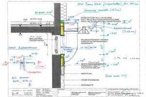 Der Ausführung komplexer Konstruktionen gehen stets Planungsprozesse voraus. Im Falle der Kellerfenster wurde die Ausführung individuell an die örtlichen Gegebenheiten angepasst