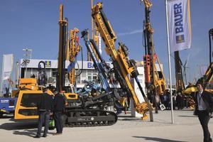 Auch Klemm, Prakla, Hausherr, RTG, ABS Trenchless und MAT zeigen ihre Neuentwicklungen.