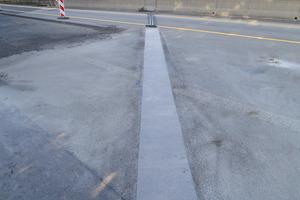 Brückenfuge A45 DB-ÜF Edingen nach der Sanierung<br /><br />