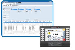 Die Abbildungen zeigen das Wiegesystem Loadmaster Alpha 100 von MSO mit flexibler Datenanbindung.  (Bild: MSO Messtechnik und Ortung GmbH)