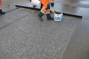 Auch die Sanierung von Autobahnen ist mit dem bewährten Reparaturmörtel möglich<br />