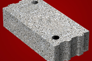 Der neue Jasto Isokimmstein aus Leichtbeton verhindert Wärmebrücken zwischen Wand und Boden. Er unterdrückt den Wärmefluss in horizontaler und in vertikaler Richtung.<br /><br /><br /><br />