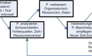 Vorgehensweise im Prozessmanagement<br />
