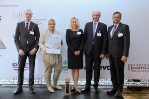 Der letztjährige Gewinner, die Johann Bunte Bauunternehmung aus Papenburg, erkämpfte sich in diesem Jahr den Platz als bestes Unternehmen in der Kategorie Tief-, Straßen- und Ingenieurbau.