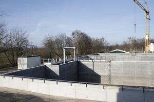 """Im Potsdamer Klärwerk kam der neue Beton mit erhöhter Säurewiderstandsfähigkeit zum Einsatz mit dem Ziel, die Folgekosten zu minimieren<br /><span class=""""bildunterschrift_hervorgehoben"""">Foto: Cemex Deutschland AG / Sascha Montag/vor-ort-foto.de</span><br />"""