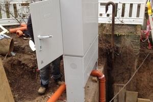 Das Schaltgerät mit Alarmfunktion wurde in einem Außenschaltschrank installiert<br />