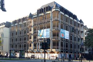 Für die Renovierung wurde das gesamte Gebäude entkernt. <br />