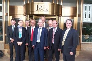 Die GWP-Delegation mit Dr. Fritz Holzwarth vom BMU (3.v.l.) überzeugte mit innovativen Konzepten und nachhaltigen wasserwirtschaftlichen Lösungen <br />