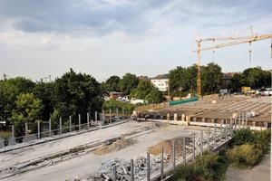 Überbauerneuerung der Brücke Stadtwaldbahn durch Heinrich Walter Bau<br />