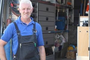 Gewicht gespart, gute Übersichtlichkeit, guter Service – Tony Loudon ist zufrieden