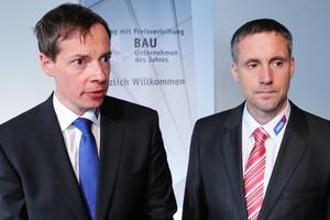 """Stefan und Peter Jökel, Fa. Jökel: """"Der Preis erfüllt uns und unsere Mitarbeiter mit Stolz. Wir werden ihn auch nach außen tragen, denn er stärkt uns als Marke und spiegelt wider, wofür wir stehen."""""""