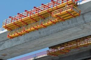 Mithilfe des Variokit Baukastensystems lassen sich Tragwerke kostengünstig herstellen – bei maximaler Anpassungsfähigkeit an die Baustellenerfordernisse und die jeweiligen Bauwerksabmessungen<br />