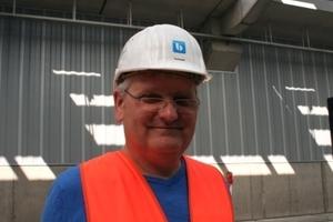 Mit verantwortlich für das Pilotprojekt: Wolfgang Schmidt, Senior Projektingenieur bei Bilfinger Berger Ingenieurbau GmbH<br /><br />