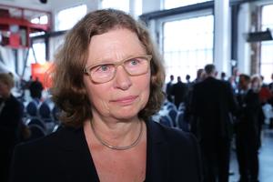 """Annemarie Lütkes, Regierungspräsidentin von Düsseldorf: """"Die Landesregierung braucht den verlässlichen Partner Bauwirtschaft und deren einzelne Unternehmer, die in der Lage sind, komplexe Aufgaben qualitätsvoll auszuführen."""""""