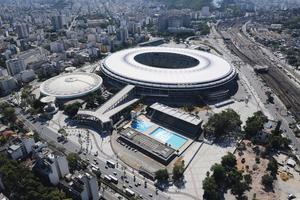 Das Maracanã-Stadion wird Austragungsort des Finales der Fußballweltmeisterschaft 2014 sein. Es ist das größte Stadion in dem südamerikanischen Land und bietet 73.531 Zuschauern Platz