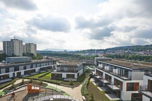 MILANEO Stuttgart, Überblick Wohnbebauung<br />