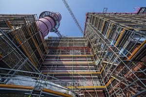 Peri Up Rosett Flex erfüllt höchste Anforderungen an die Arbeitssicherheit – sowohl bei der Nutzung als auch bei der Gerüstmontage. <br />