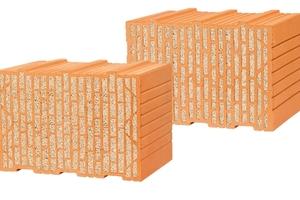 """Für hohe Ansprüche: Neben sehr guten statischen Eigenschaften weisen die Mauerziegel """"Unipor WS09 Coriso"""" und """"Unipor WS10 Coriso"""" von Leipfinger-Bader auch hervorragende Werte im Wärme-, Schall- und Brandschutz auf"""