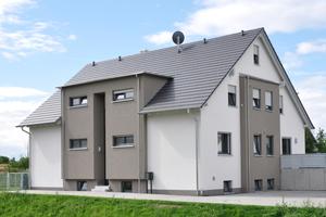 Wirtschaftliche Wanddicken kombiniert mit im Wohnungsbau geforderten Schalldämm-Maßen: UNIKA Kalksandstein Planelement in RDK 2,4