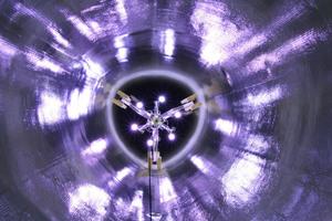Eine zentrale Rolle bei der erfolgreichen Projektabwicklung kam dem Prokasro UV-Jumbokern 12 x 1000 Watt zu, mit dem der Liner ausgehärtet wurde.