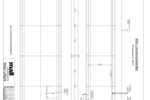"""Schnitt durch einen der beiden Löschwasserspeicher mit 96 m³, ohne Kombination mit Regenwassernutzung<br /><span class=""""bildunterschrift_hervorgehoben"""">Abbildung: Mall</span>"""