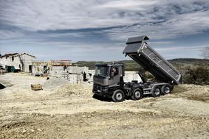 OptiTrack ist nun für die meisten Modellausführungen der Baureihe Renault Trucks C erhältlich: 4x2, 6x4, 6x2/4, 8x2/6 und 8x4.