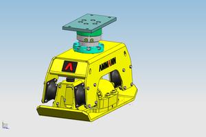 Durch die Energieversorgung über die Baggerhydraulik benötigt der ACA 5546/5556 keinen eigenen Motor.