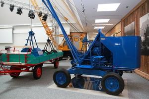 Historische Maschinen im neuen Sennebogen-Museum<br />