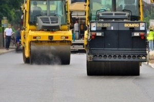 Am 26.07.14 wurde in Wäschenbeuren die Ortsdurchfahrt mit Echtzeit Bauprozesssteuerung saniert