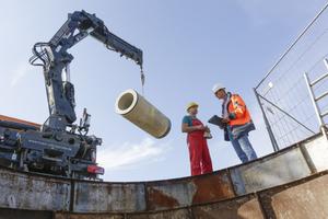 In vorgegebenen Abständen besucht der Prüfingenieur die Baustellen der Gütezeichen führenden Unternehmen