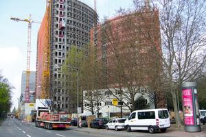 Aus der Bauphase in Frankfurt