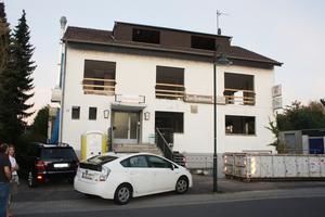 """Vorher: Das 50 Jahre alte Gebäude im beliebten Wohnviertel des Rösrather Stadtteils Forsbach hat schon viel erlebt: Jahrzehntelang traf man sich hier in der Gaststätte """"Zum Henkelmann"""""""