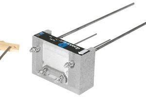 Der Isokorb Typ RQS ist ein tragendes Wärmedämmelement für den Anschluss von gestützten Stahlbalkonen an bestehende Stahlbetondecken
