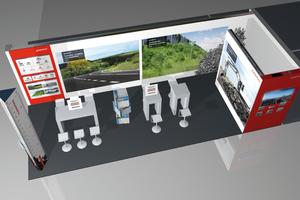 FGSV-Kongress: Informationsstand der Remex Mineralstoff GmbH.<br />