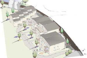 Bisogreen-Plansteinen für die Außenwände und Normaplan Vollblöcken für Haus- und Wohnungstrennwände