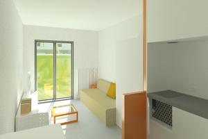 Auf kleinem Raum bieten die Smart-Rooms hohen Komfort durch intelligente Möblierung und Raumaufteilung.