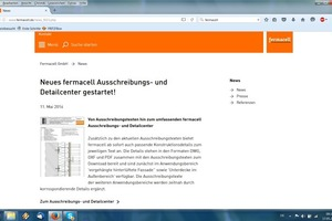 Im Fermacell Ausschreibungs- und Detailcenter können Planer und Architekten unter www.fermacell.de/downloads ab sofort Konstruktionsdetails, Ausschreibungstexte und Auszüge der Prüfzeugnisse für Fermacell und Fermacell Aestuver gebündelt in einer Datenbank abrufen.<br /><br />