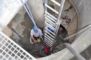 <strong>Beengt:</strong> Der innere Durchmesser des Königsstuhls von nur 3,40 m beschränkte den Aktionsradius