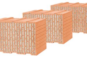 """Talent für die Höhe: Die Mauerziegel """"Unipor WS09 Coriso"""", """"Unipor WS10 Coriso"""" sowie der """"Alleskönner""""-Ziegel """"Unipor WS08 Coriso"""" von Leipfinger-Bader eignen sich ideal für den mehrgeschossigen Wohnungsbau. Eine hohe Druckfestigkeit und speziell ausgeprägte Stege sorgen für die notwendige Tragfähigkeit."""