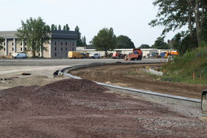 """Auf dem Gelände der <span class=""""bildunterschrift_hervorgehoben"""">Emmich-Cambrai-Kaserne in Hannover</span> <span class=""""bildunterschrift_hervorgehoben"""">Langenhagen</span> wurde eine KFZ-Ausbildungsanlage errichtet"""