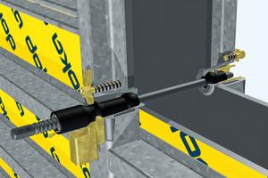 Bei den völlig neuartigen, zum Patent angemeldeten Framax Xlife plus-Ankern erfolgt die Abdichtung Stahl-auf-Stahl, ganz ohne Verschleißteile.