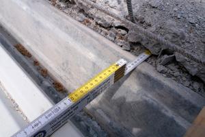 Risse und Gefügeauflockerungen im Beton