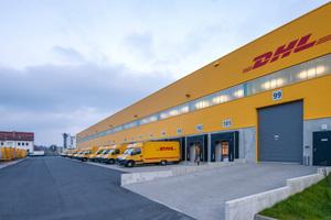 Im Oktober 2014 wurden die ersten Pakete von der DHL Zustellbasis in Leimen ausgeliefert.