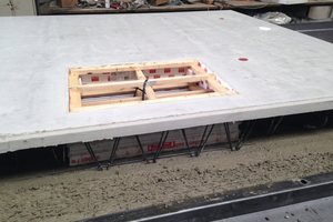"""Aus Gewichtsgründen wird die Wand """"hohl"""" zur Baustelle transportiert und erst dort mit Beton oder Dämmmaterial verfüllt."""