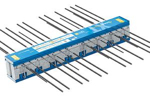 Schöck Isokorb Typ KXT 50 (Tragstufe 50) für frei auskragende Balkone wurde mit einer Umwelt-Produktdeklaration (Environmental Product Declaration, EPD) vom Institut Bauen und Umwelt e.V. (IBU) ausgezeichnet. Foto: Schöck Bauteile GmbH