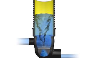 RigoLimit V<br />nutzt den bewährten Wirbeleffekt zur Drosselung des Abflusses.
