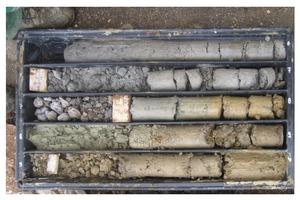 Aus der Analyse der Sondierungen und Bodenproben sowie weiteren Ergebnissen aus Laborversuchen ermittelten die Experten die bodenmechanischen Kennwerte