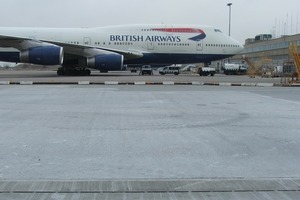 1 Aufgrund ihrer Einbauvorteile entschied sich die BAA, British Airports Authority, für eine Enwässerungslösung mit Recyfix Hicap am Flughafen Heathrow<br />